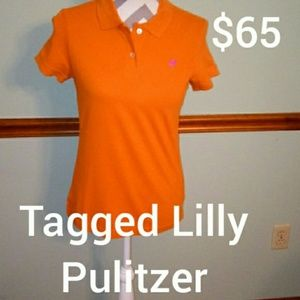 New Lilly Pulitzer size small shrunken Polo